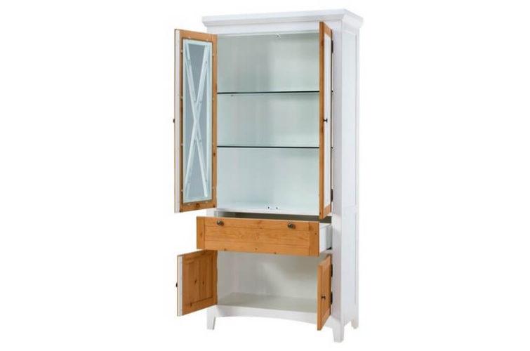 witryna 4-drzwiowa z 1 szufladą
