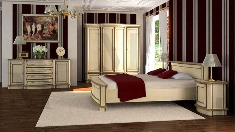 Sypialnia z kolekcji Hawana
