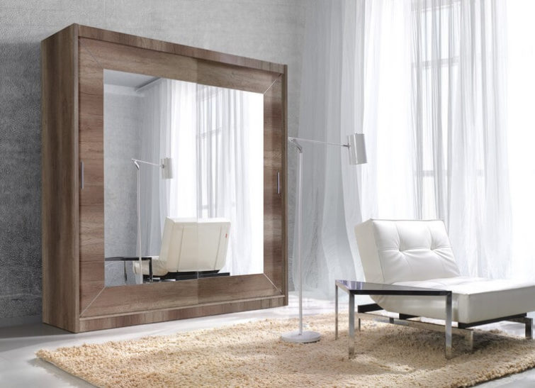 Szafa Alfa country grey oak
