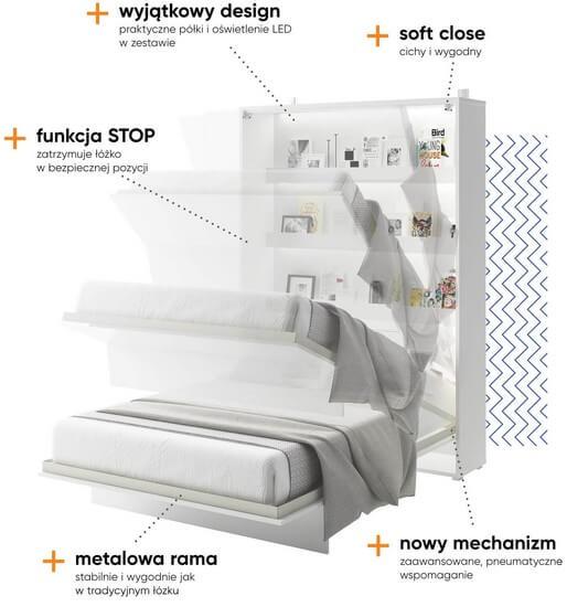 Bed Concept rokładany