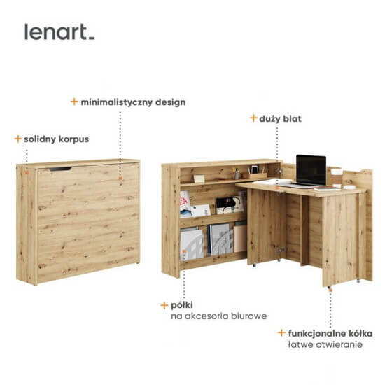 Biurko Work Concept Lenart