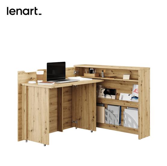 Biurko Work Concept dąb artisan Lenart
