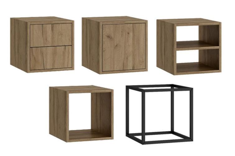 Elementy kolekcji Tetris Olejnikowski