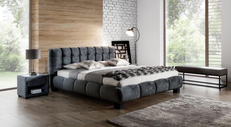 Łóżko tapicerowane Belly