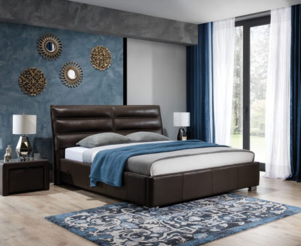 Łóżko tapicerowane Bergamo