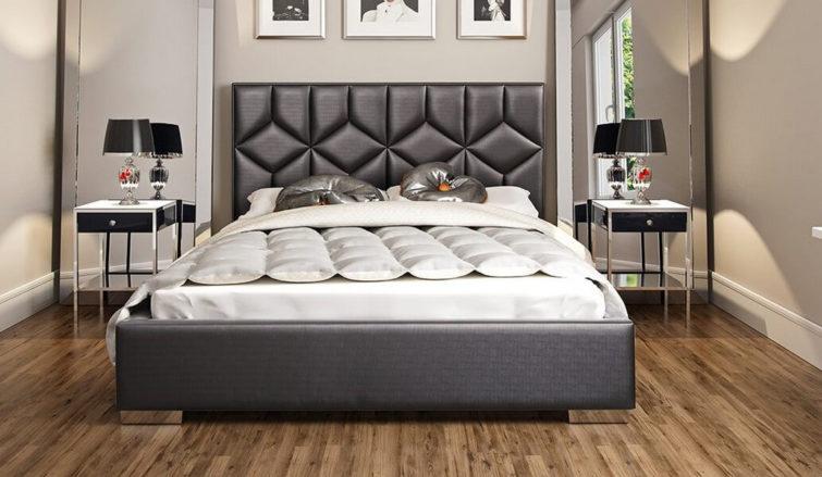 Łóżko tapicerowane Caro Gki Design