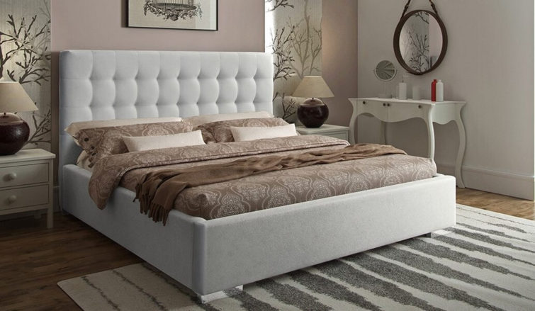 Łóżko tapicerowane Mila Gki Design