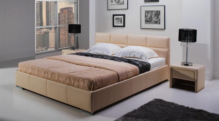 Łóżko MINI MAXI z wezgłowiem 2101