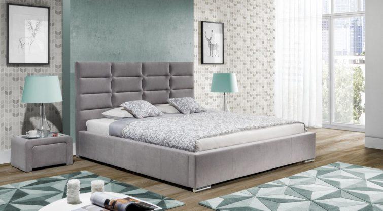 Łóżko MINI MAXI z wezgłowiem 2103