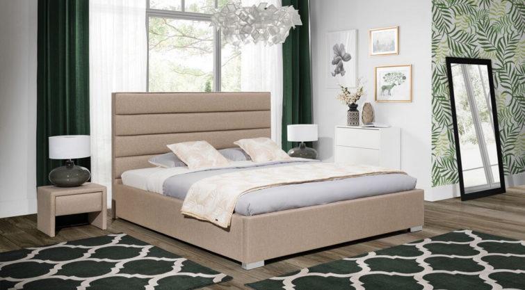 Łóżko MINI MAXI z wezgłowiem 2300