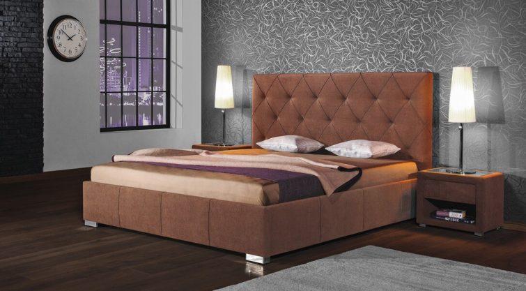 Łóżko MINI MAXI z wezgłowiem 2700