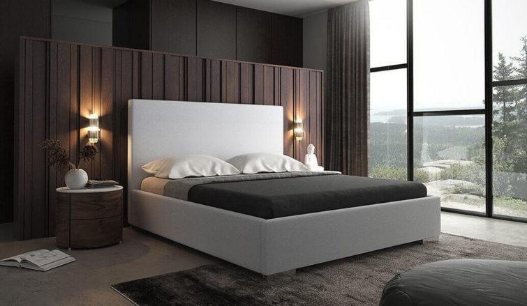 Łóżko tapicerowane Uno Gki Design
