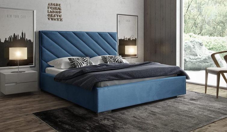 Łóżko tapicerowane Theo Gki Design