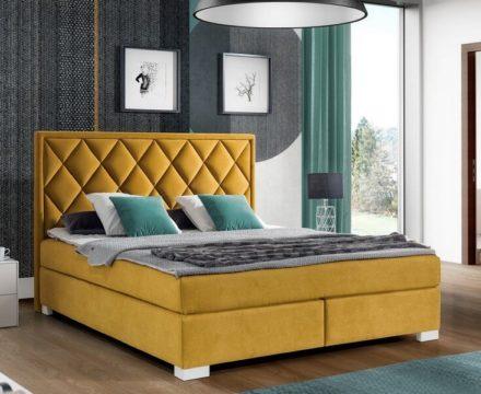 Łóżko KONTYNENTALE z wezgłowiem 402