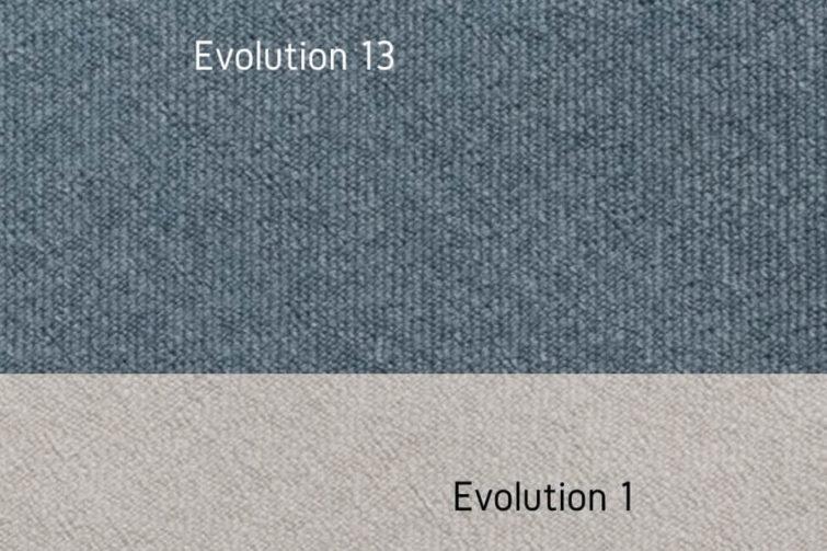 Ekenas tkanina evolution