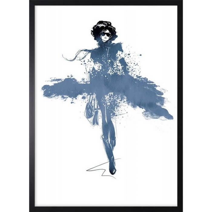 Obraz moda kobieca