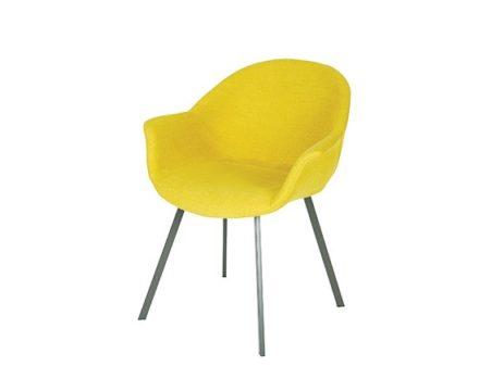 Krzesło Alan Metal Straight Legs