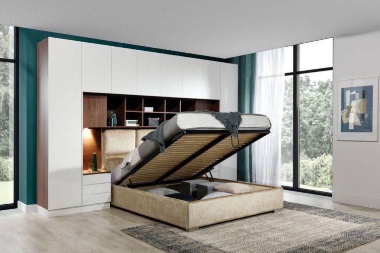 Łózko z szafą Sleep Varia