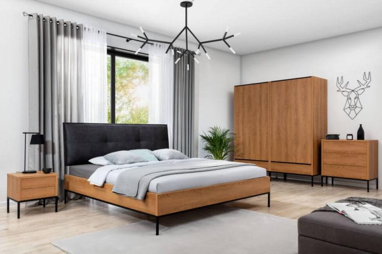 Kompletna sypialnia Loft Karmel